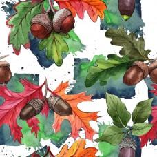 Дубовые листья 2