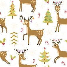 Новогодние олени