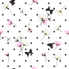 Горошки с цветами