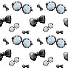 Очки и галстук-бабочка